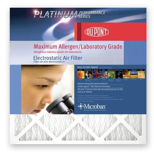 DuPont Platinum Max Allergen Air Filter,