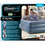Simmons Beautyrest Skyrise 19-Inch Double Pillow Top Express Air Bed with Pump