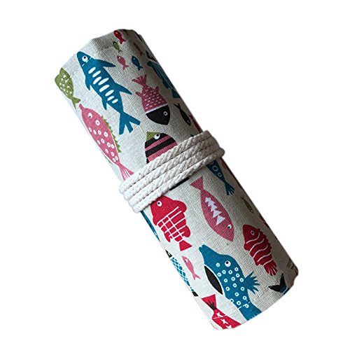 Amazon.com : SODIAL Design Canvas Wrap Holder for 72 Colored ...