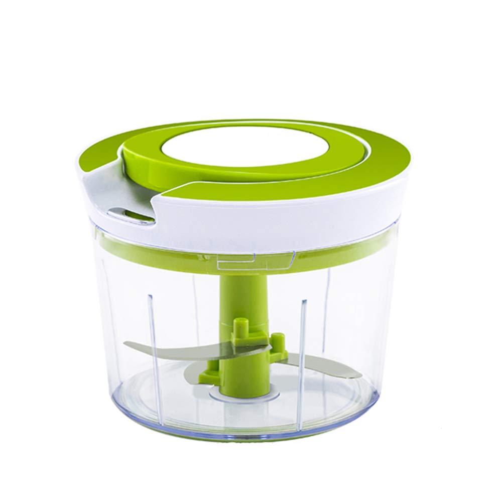 DENGSH Vegetable Slicer,Multi-Function Chopping Dish,Manual Fruit and Vegetable Shredder,Large Capacity Convenience/Green by DENGSH