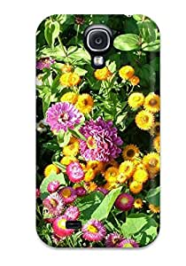 Premium Summer Flowers Heavy-duty Protection Case For Galaxy S4 9055038K62787762