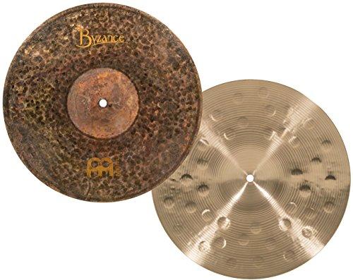 Meinl Cymbals B14EDMH Byzance 14-Inch Extra Dry Medium Hi-Hat Cymbal Pair (Meinl Hi Hat Cymbals)