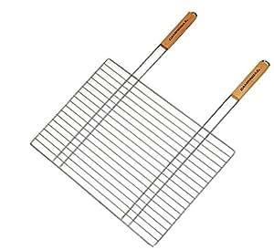 Campingaz 205690 - Cesta de parrilla grande, rectangular doble mango, 67 x 40 cm