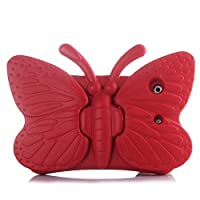 IPad Mini case EVA Butterfly for Kids (Red)
