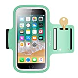 Maxboost Armband [Original] For Small Phone - iPhone x 8 7 6 6S SE 5 5C, Galaxy S9 s8 S7 S6 S5, LG,HTC,Nokia [Water Resistant] Universal Exercise Sports Running Pouch Key Holder + Fit Most Case