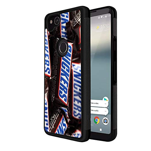 (Case TPU+PC for Google Pixel 2 (2017) 5inch Candy Halloween Snickers)