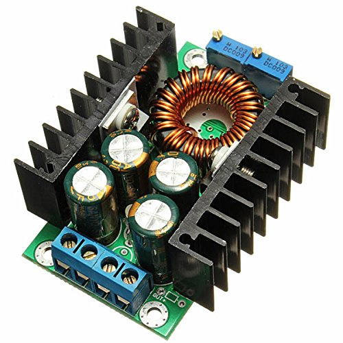 8A 24V TO 12V Step Down LED Driver Adjustable Power Supply Module - Arduino Compatible SCM & DIY Kits