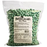 Mint Dropz in Premium Chocolate - 5lb Bulk Bag - by Dilettante