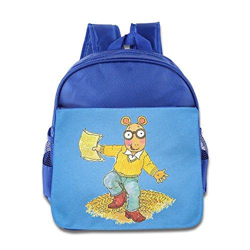 Arthur Cartoon Cute Unisex Child School Backpack
