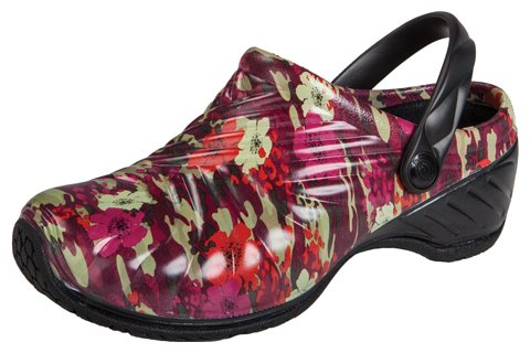 Image of Dickies ZigZag Women's Clogs with Backstrap (Pretty in Camo, 5)