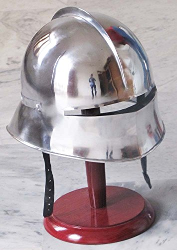 Medieval German Sallet Helmet Gothic Close Helm Re-Enactment Costume Spartan