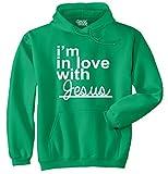 In Love Jesus Christ Christian Shirt | Religious Gift Faith Fleece Hoodie