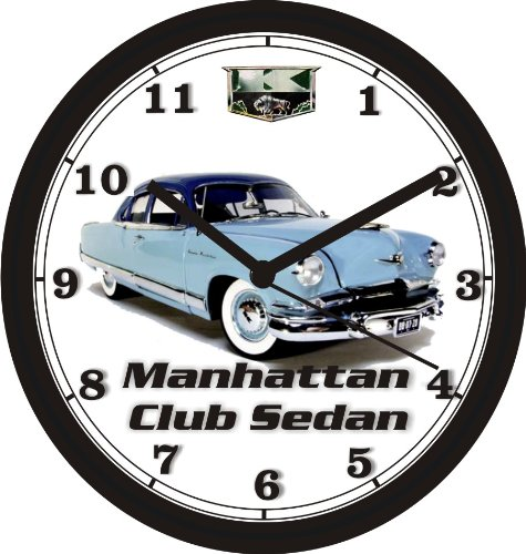 Used, 1953 KAISER MANHATTAN CLUB SEDAN WALL CLOCK-Free USA for sale  Delivered anywhere in Canada