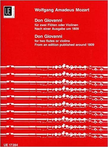 Ebook pour tally erp 9 téléchargement gratuit UNIVERSAL EDITION MOZART W.A. DON GIOVANNI, NACH EINER AUSGABE UM 1809 Partition classique Bois Flûte traversière in French PDF ePub