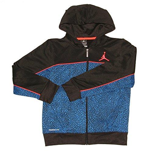 Jordan Big Boys' Therma-fit Camo Printed Full-zip Jacket (Medium (10-12YRS), ...
