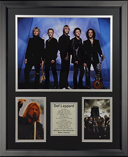 "Legends Never Die Def Leppard Framed Photo Collage, 16"" x 20"""