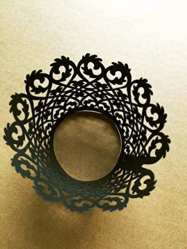 sorive-r-pack-of-120-black-vine-filigree-laser-cut-lace-cupcake-wrapper-wraps-liner-pearlescent-cupc