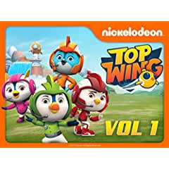 Top Wing soars onto DVD for the first time on October 2 from Nickelodeon