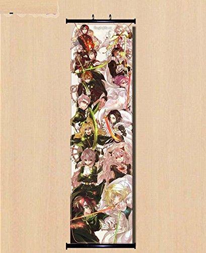 Home Decor Anime Japanese Seraph of the End / Owari no Seraph Wall Poster 45*150cm