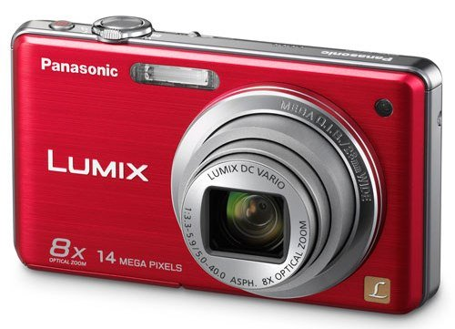 Camera Internet Panasonic - Panasonic Lumix DMC-FH20 14.1 MP Digital Camera with 8x Optical Image Stabilized Zoom and 2.7-Inch LCD (Red)
