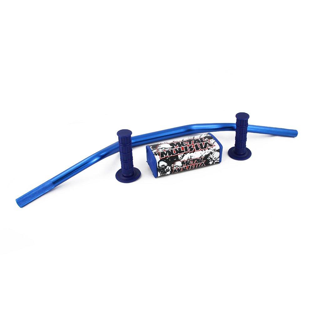 1 1/8 28mm Handlebar Fat Handle Bar Pad Grips Set - Yamaha YZ125 YZ250 YZ250F YZ450F WR250F WR450F Fast Pro