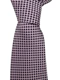 Ermenegildo Zegna Men's Pink Geometric Silk Neck Tie