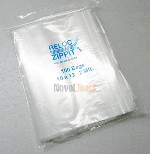 (Reloc Ziplock Bags Large 10