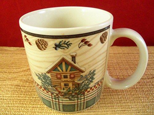 - One Preowned Debbie Mumm Winter Birds Coffee Tea Mug