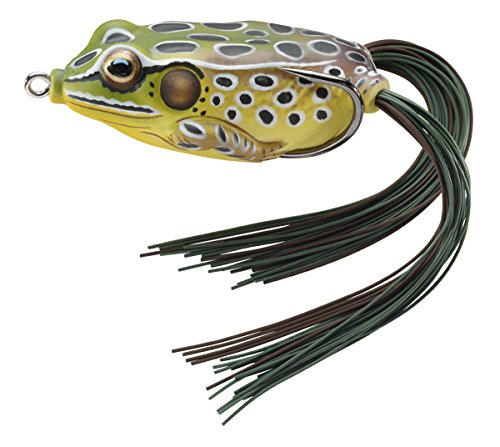 LiveTarget FGH45T514 Frog Freshwater Hollow Body Series, (Emerald Frog)