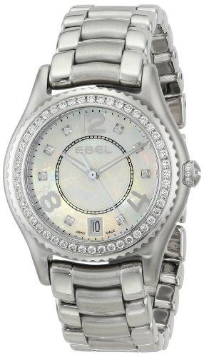 EBEL Women's 1216110 X-1 Analog Display Swiss Quartz Silver Watch