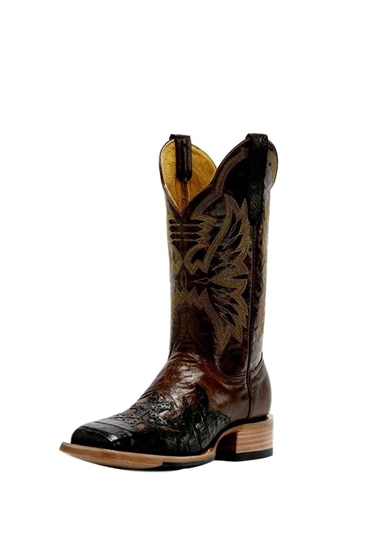 Cinch Men's Caiman Wingtip Cowboy Boot Square Toe - Cfm111