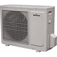 GARRISON 2465577 Mini-Split Ductless Outdoor Condensing Unit, 18000 BTU, White