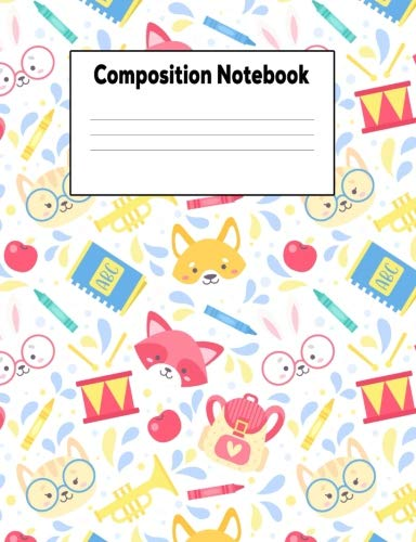 - Composition Notebook: School Fun College Ruled Lined