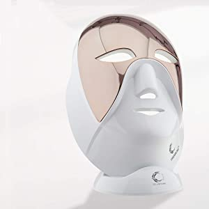 Cellreturn LED Mask Premium Luxury Home Skin Care Light Therapy Wireless Device with 690 LED Lights, Made in Korea