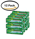 PACK OF 12 - Polident Dentu-Creme Triple Mint Freshness Denture Cleanser Paste 3.9 oz. Box