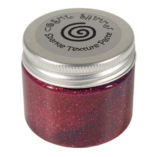 Cosmic Shimmer Sparkle Texture Paste, Apple Red Craftiarts CSPASTSPAPP