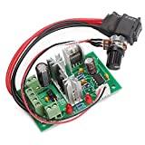 dc motor control - DROK DC Motor Control, 6-30V Motor Speed Controller Board High power 200W PWM Motor Controller Circuit Module 6V 12V 24V 30V Support PLC Control with Forward Reverse Rotation Switch