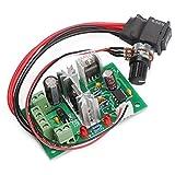 DROK DC Motor Speed Control 6V-30V 10A 200W PWM Controller 6V 12V 24V 30V Support PLC Control with Positive Inversion Switch