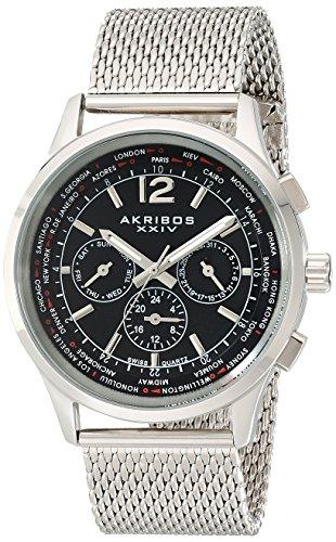 Akribos XXIV Men's AK716SSB