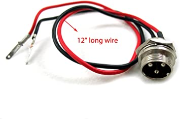 Amazon.com: 12 V 24 V 36 V cargador de batería 3 Prong Plug ...
