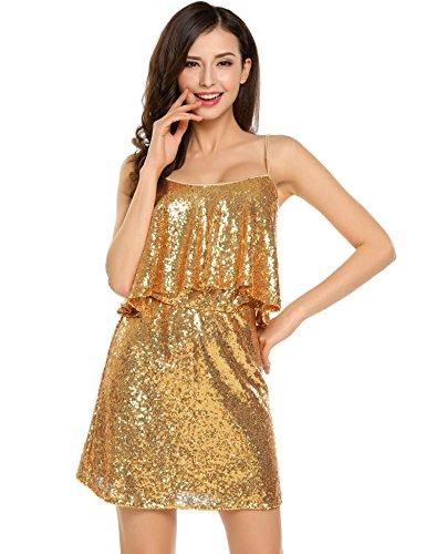 Vintage Gold Sequin - 1