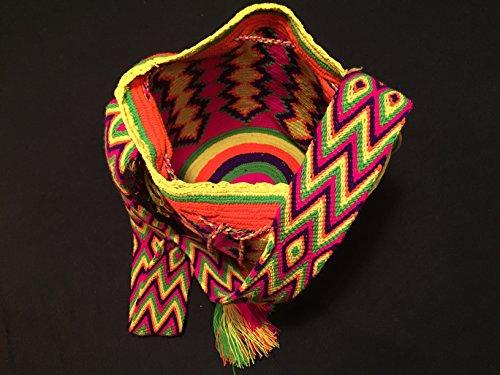 Mochila Wayuu - Bolso cruzados de algodón para mujer Majagual