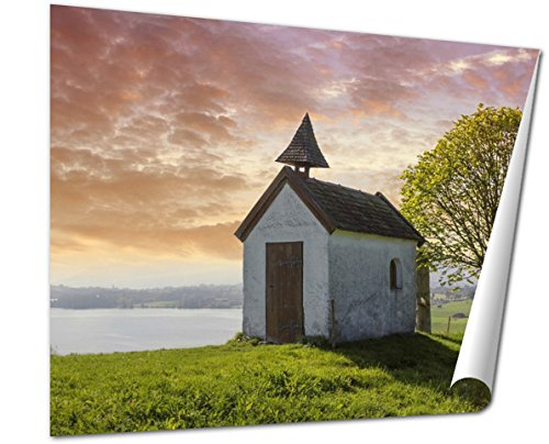 ashley-giclee-little-chapel-on-the-hill-view-to-lake-riegsee-bavaria-16x20-print