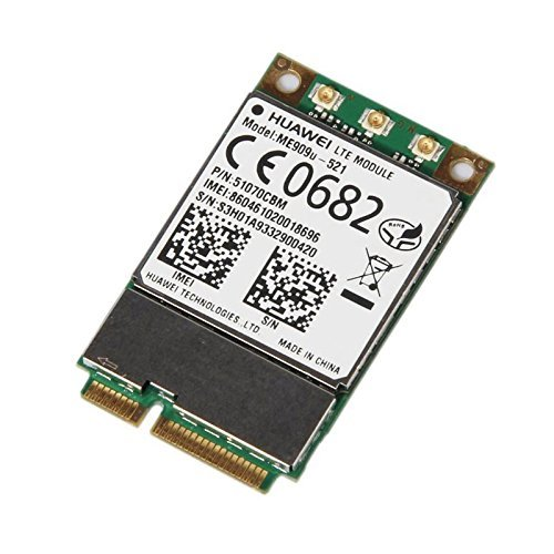 Huawei ME909u-521 4G/LTE- 3G/HSPA+ DC LGA Mini-PCIe Express Wifi Router Module by Huasijie