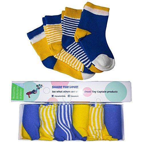 Boys Baby Socks ( 6 PACK) For...