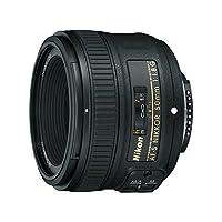Nikon AF-S FX NIKKOR 50mm f /1.8G Lens con enfoque automático para cámaras réflex digitales Nikon