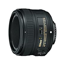 Nikon 50mm f/1.8G AF-S NIKKOR FX Lens