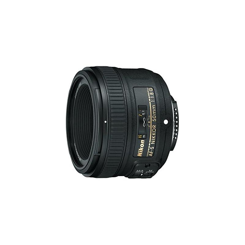 Nikon AF-S FX NIKKOR 50mm f/1.8G Lens wi