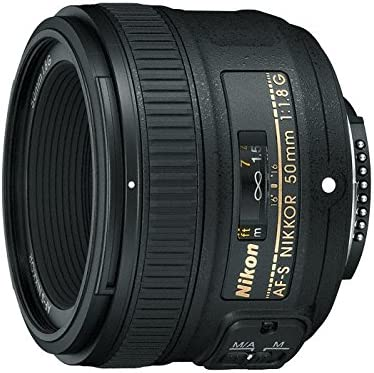 Nikon AF-S 50mm F1.8 G - Objetivo para Nikon (distancia focal fija ...