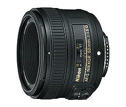 Nikon Af-s Fx Nikkor 50mm F1.8g Lens With Auto Focus For Nikon Dslr Cameras